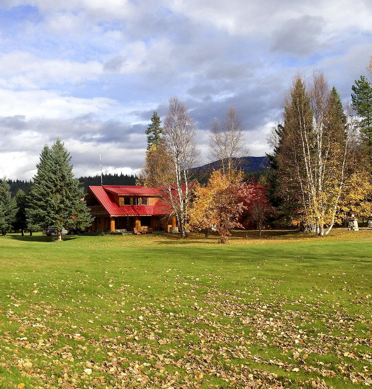 The lodge is pretty decent—even in the absence of snow.
