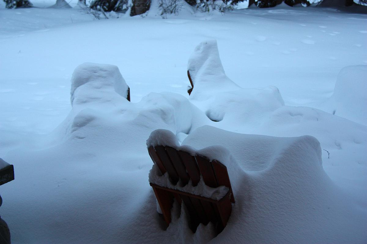 It might be time to put away the lawn furniture...