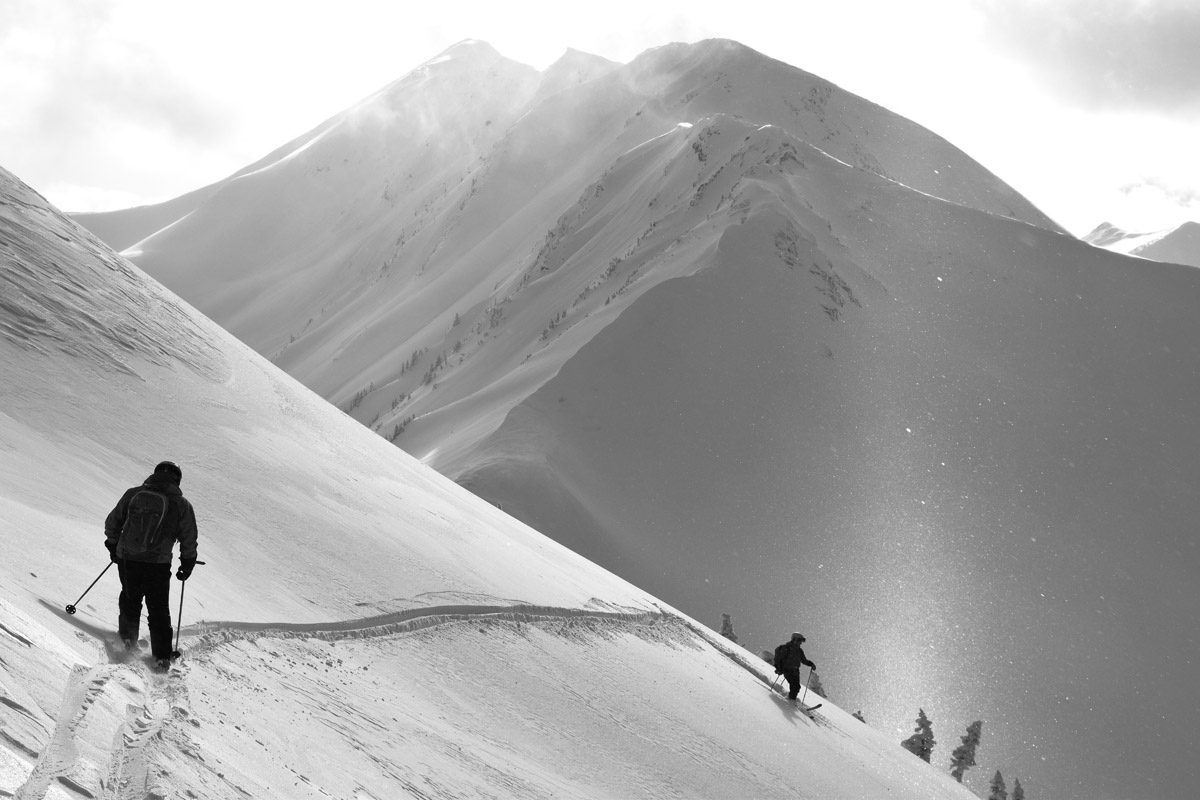 The road to powder...